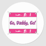 Va el papá va - Triathlon Etiqueta Redonda