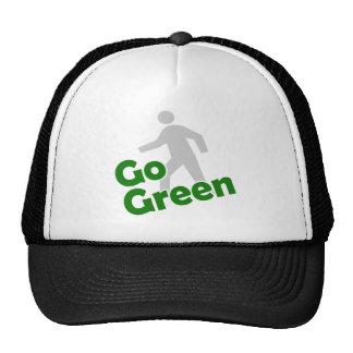 va el paseo verde gorros