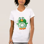 va el pingüino verde camiseta