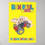 Va el poster 2012 de la raza presidencial de Kart