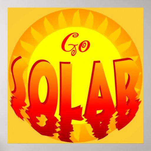 Va el poster de energía solar