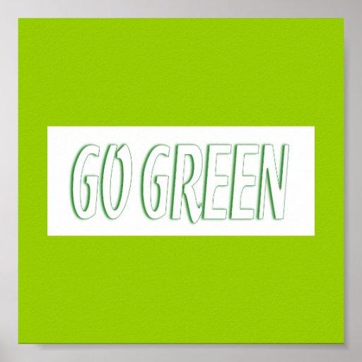 Va el poster verde