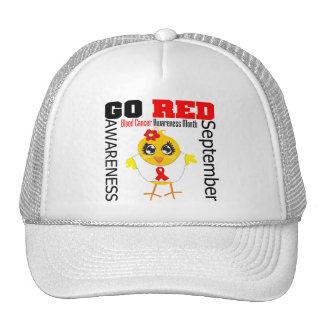 Va el rojo para el mes v1 de la conciencia del cán gorra