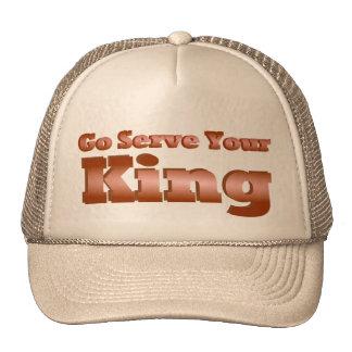 Va el servicio su rey gorros