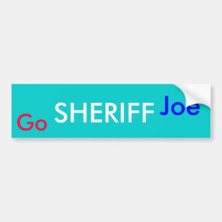 Va el SHERIFF Joe Etiqueta De Parachoque