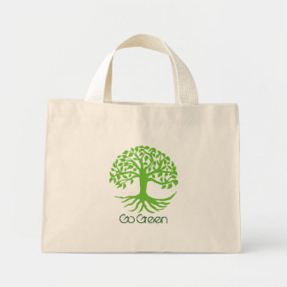 Va el tote verde bolsa