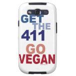 Va el vegano consigue los 411 galaxy SIII protectores