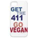 Va el vegano consigue los 411 iPhone 5 carcasa
