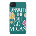 Va el vegano iPhone 4 carcasa