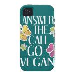 Va el vegano iPhone 4 fundas