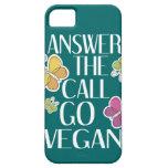 Va el vegano iPhone 5 Case-Mate protector