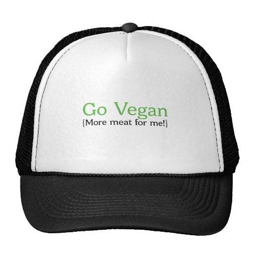 Va el vegano (más carne para mí) gorras de camionero