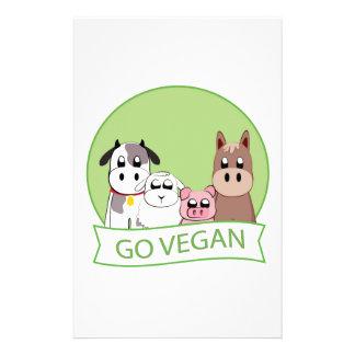 Va el vegano papeleria personalizada