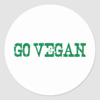 Va el vegano pegatinas