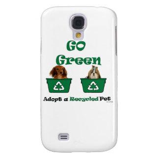va el verde adopta a un mascota reciclado funda para galaxy s4