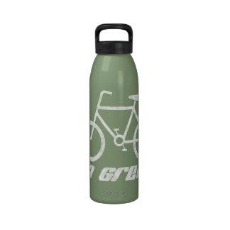 Va el verde bebida amistosa del agua de Eco de la Botellas De Beber