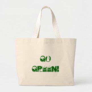¡Va el verde! Bolsa Lienzo