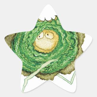 ¡Va el verde - cómame! , fernandes tony Pegatina En Forma De Estrella