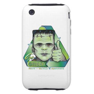 Va el verde iPhone 3 tough fundas