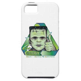 Va el verde funda para iPhone 5 tough