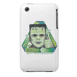Va el verde iPhone 3 Case-Mate cárcasa