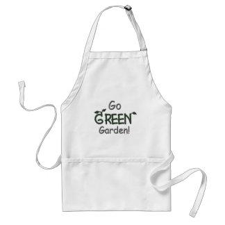 Va el verde, jardín delantales