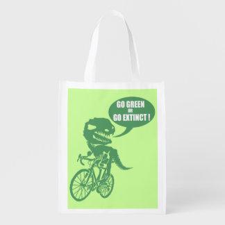 Va el verde o va extinto bolsas para la compra