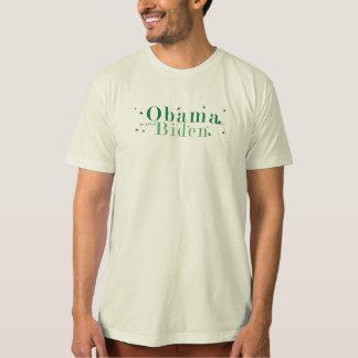 Va el verde - Obama y Biden Playera
