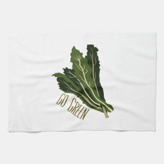 Va el verde toallas de cocina