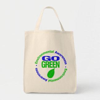 Va el verde para el ambiente bolsas