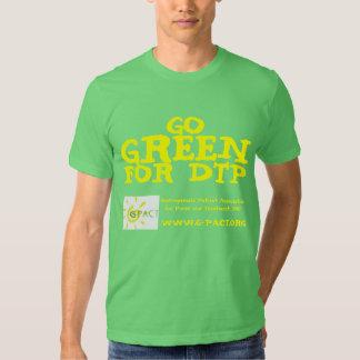 Va el verde para el DTP Camisas