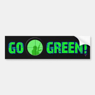 ¡Va el verde! Pegatina Para Auto