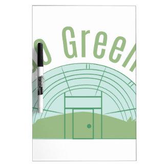 ¡Va el verde! Pizarra Blanca