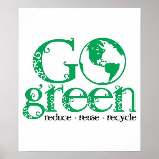 Va el verde póster