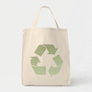 Va el verde recicla bolsa tela para la compra