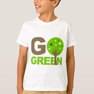 Va el verde recicla el árbol playera