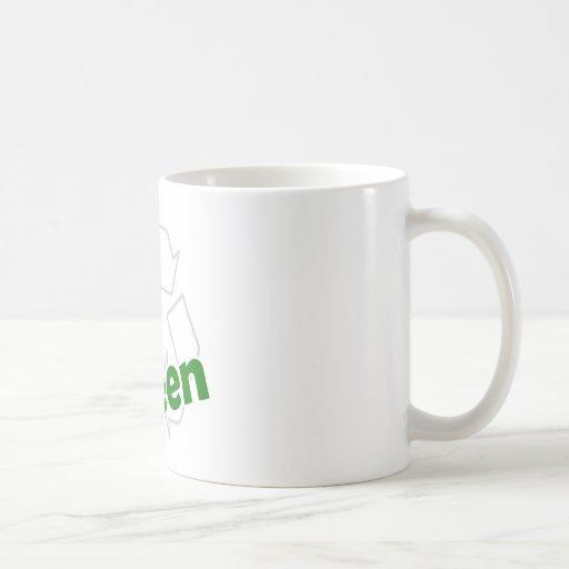 va el verde recicla tazas
