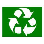 ¡Va el verde! Recicle Tarjetas Postales