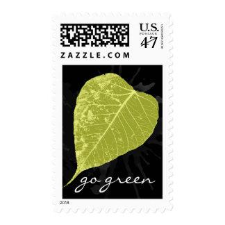 Va el verde sello postal