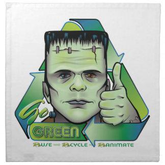 Va el verde servilletas de papel