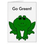 ¡Va el verde! Tarjeta