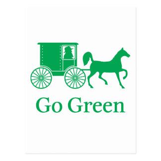 Va el verde postal