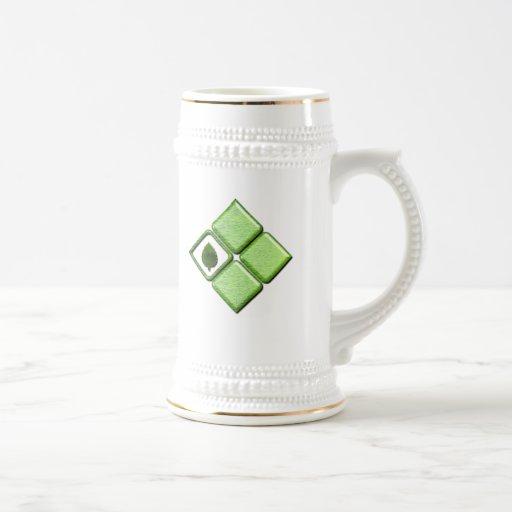 Va el verde tazas de café