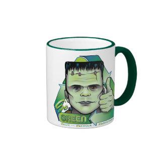 Va el verde taza a dos colores