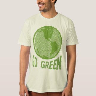 Va el verde: ¡Tierra apenada del planeta! ¡Ahorre Playeras