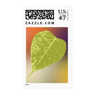 Va el verde timbre postal