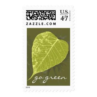 Va el verde timbres postales