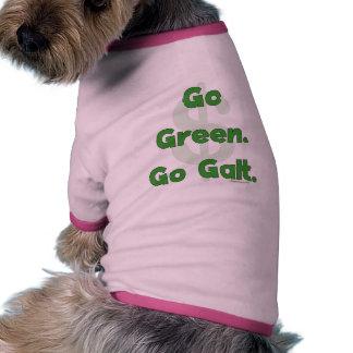 Va el verde va Galt Camisetas De Perro