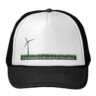 Va el verde, va limpio, va renovable gorras de camionero