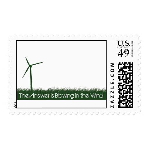 Va el verde, va limpio, va renovable sello
